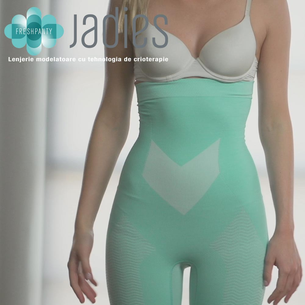 Jadies Fresh Panty - lenjerie modelatoare cu tehnologia de crioterapie    Produs Original de la Telestar