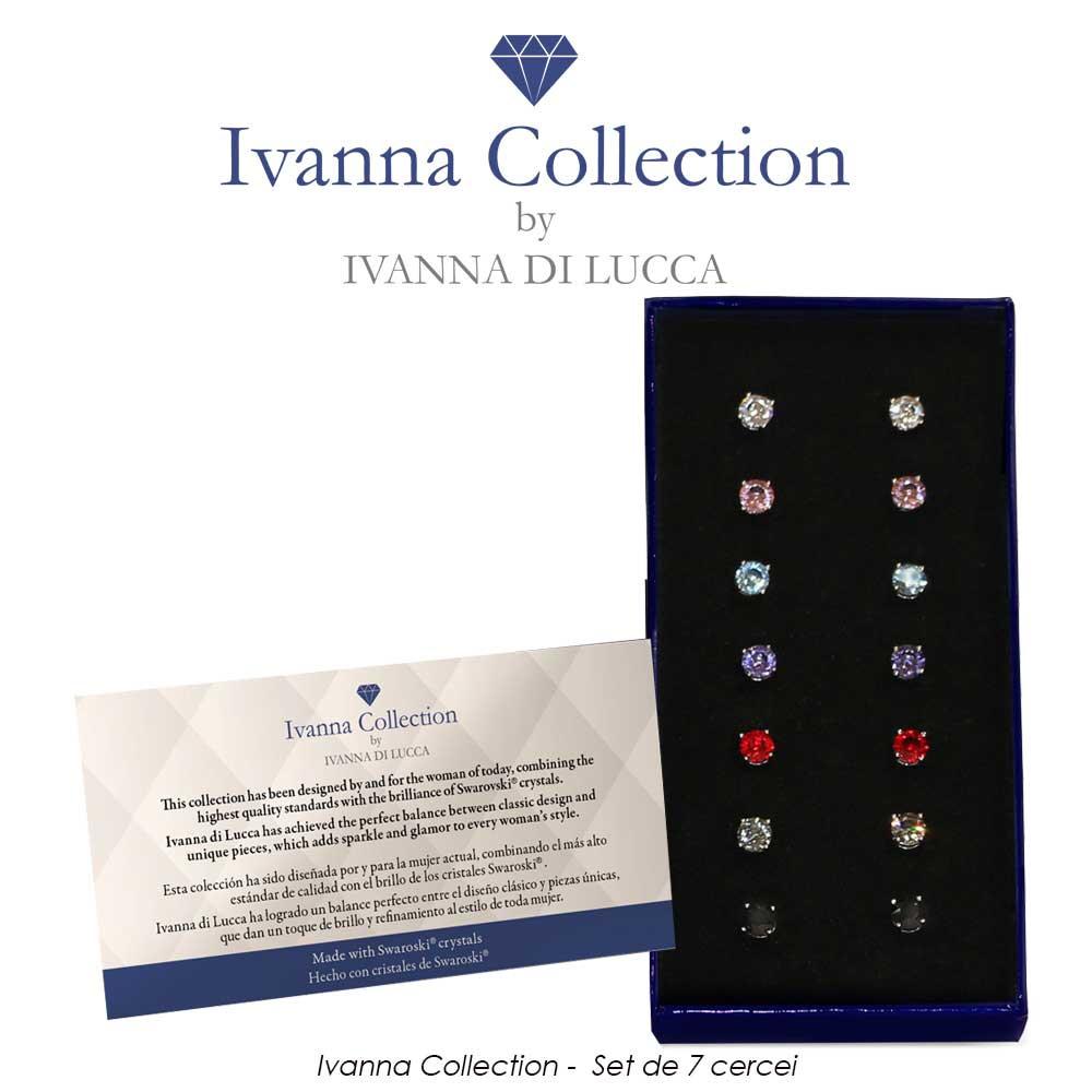 Ivanna Collection -  Set de 7 cercei