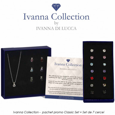 Ivanna Collection -  pachet promo Classic Set + Set de 7 cercei