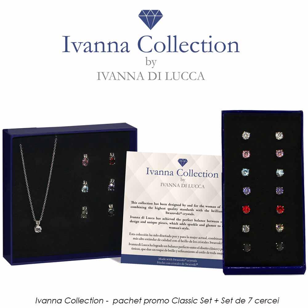 Ivanna Collection -  pachet promo Classic Set + Set de 7 cercei