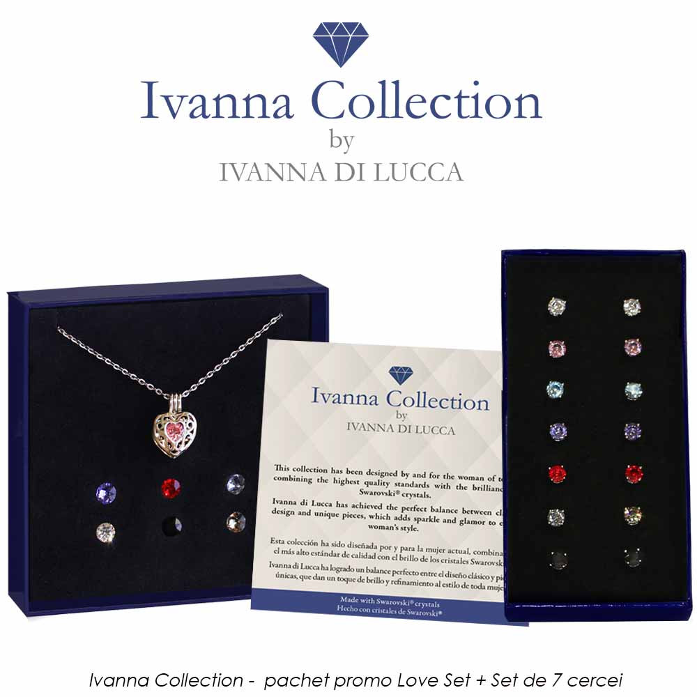 Ivanna Collection - pachet promo Love Set + Set de 7 cercei