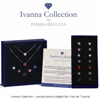 Ivanna Collection - pachet promo Delight Set + Set de 7 cercei