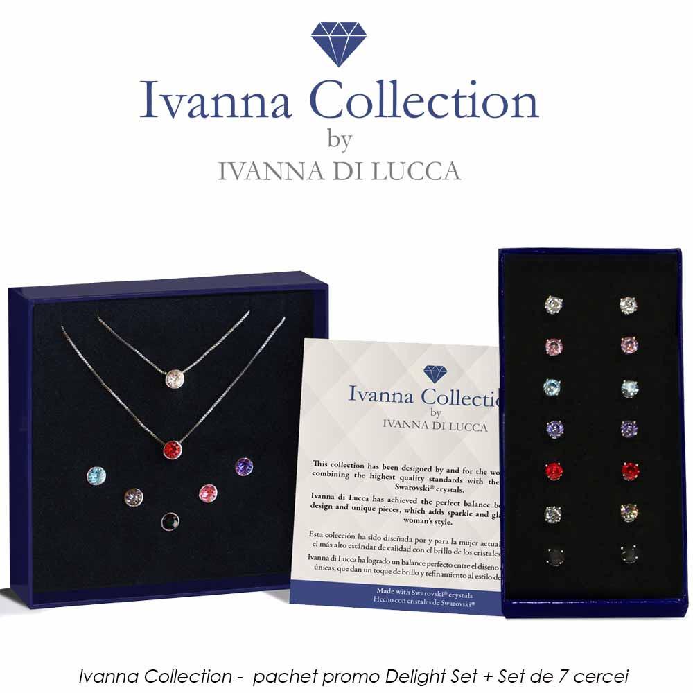Ivanna Collection - pachet promo Delight Set + Set de 7 cercei
