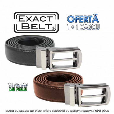 Exact Belt leather look offer 1+1