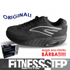 Fitness Step Men Black