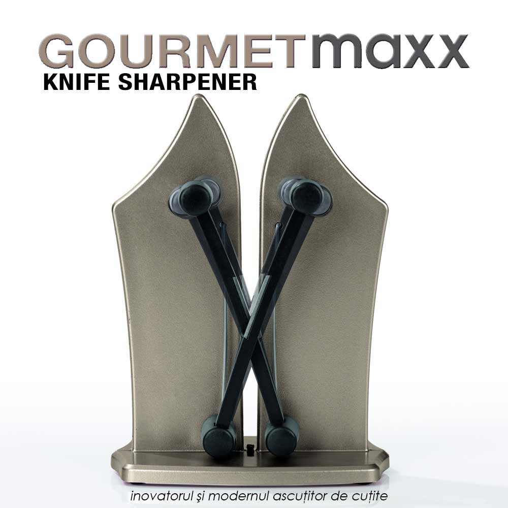 GourmetMaxx Knife Sharpener