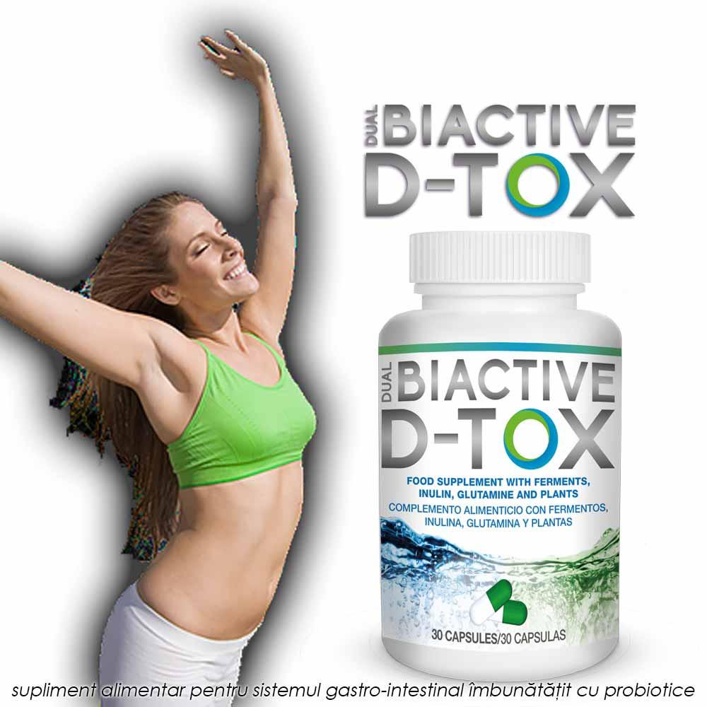 DUAL BiActive D-Tox pareri forumuri: Detoxifica in mod natural intestinul fara efecte secundare.