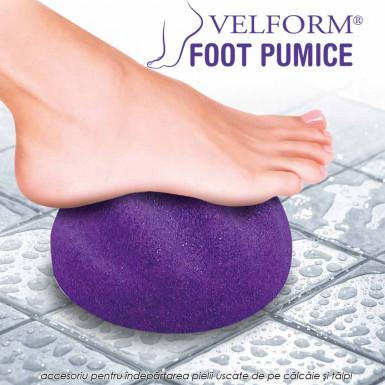 Velform Foot Pumice - noul accesoriu pentru indepartarea pielii uscate de pe calcaie si talpile picioarelor