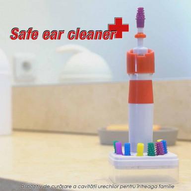 Safe Ear Cleaner - dispozitiv de curatare a cavitatii urechilor pentru intreaga familie