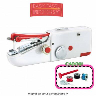 Easy Fast Handy Stitch & Sew - masina de cusut portabila fara fir