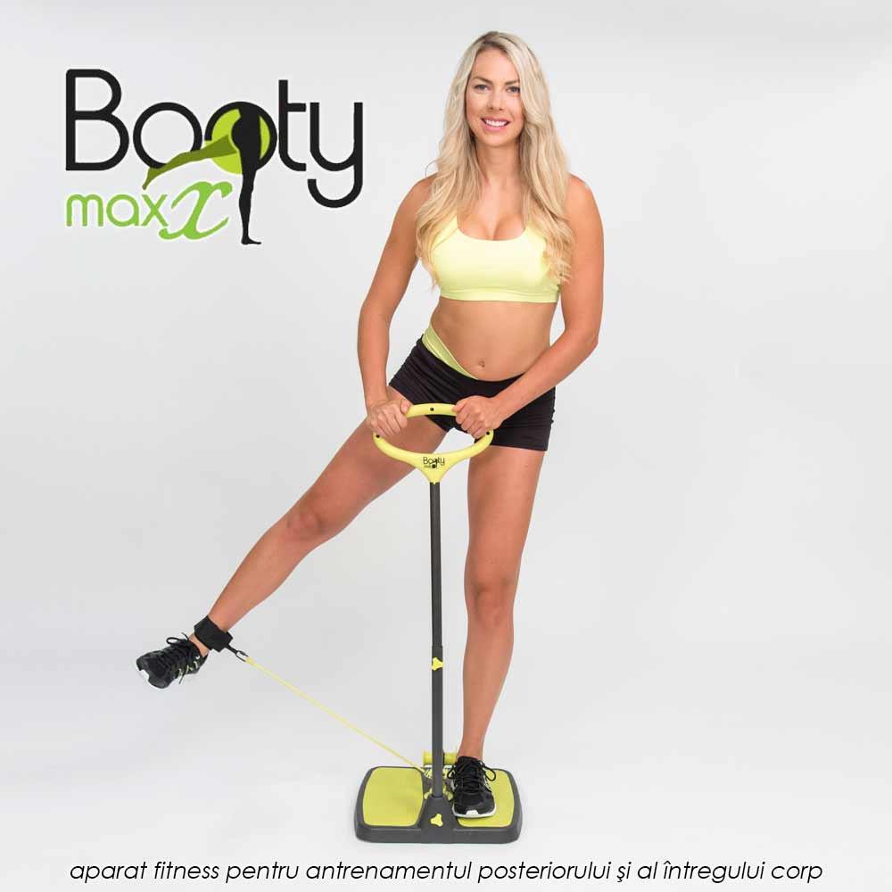 Booty Maxx - aparat fitness pentru antrenamentul posteriorului si al intregului corp