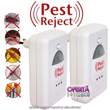 Pest Reject Original - aparat impotriva daunatorilor oferta 1+1 Cadou