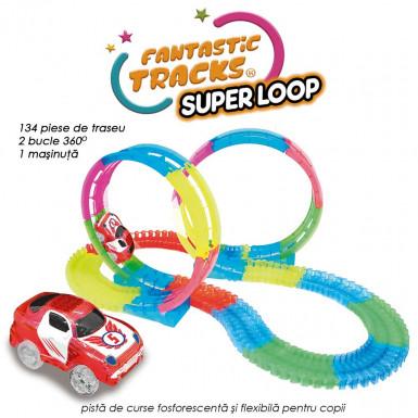 Fantastic Tracks Super Loop MEGA PACHET - cu toate accesoriile incluse