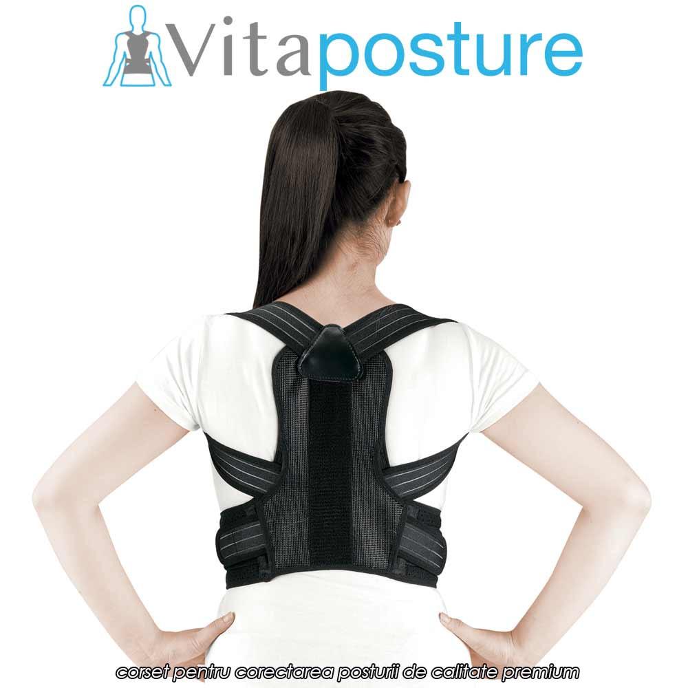 VitaPosture - corset premium unisex pentru corectarea posturii