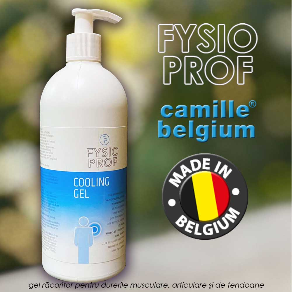 Fysio Prof Cooling Gel - dispenser economic XXL de 500ml