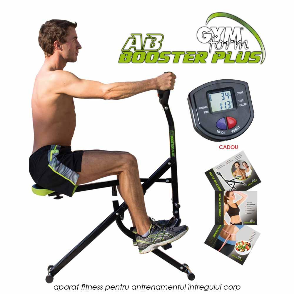 Gymform AB Booster Plus - aparat fitness pentru antrenamentul intregului corp