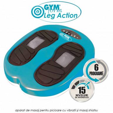Gymform Leg Action - aparat de masaj pentru picioare cu vibratii si masaj shiatsu