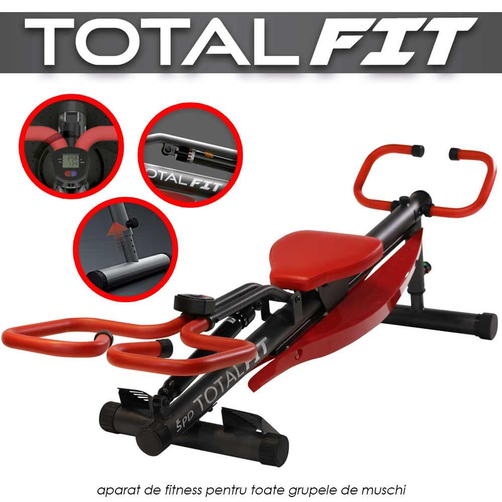 Total Fit – aparat de fitness pentru toate grupele de muschi