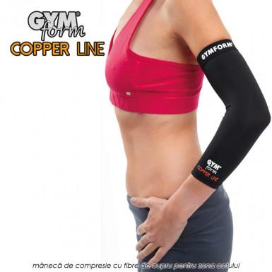 Gymform Copper Line - maneca de compresie pentru cot