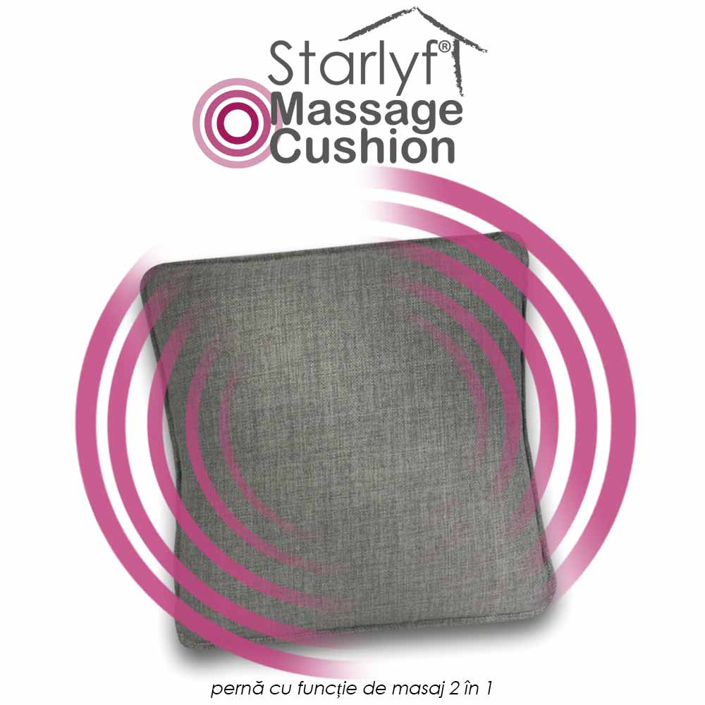 Starlyf Massage Cushion - perna cu functia de masaj 2 in 1