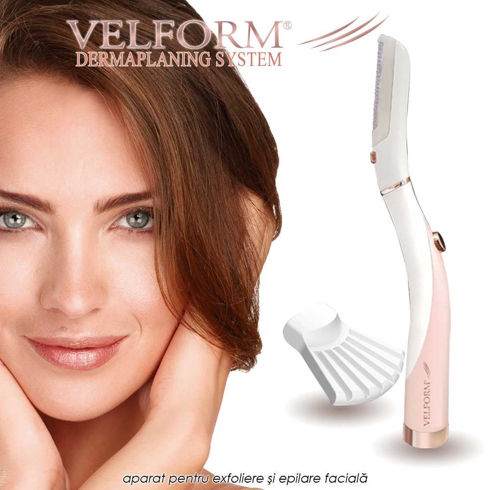 Velform Dermaplaning System - aparat pentru exfoliere si epilare faciala