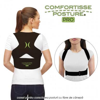 Comfortisse Posture Pro - corset pentru corectarea posturii cu fibre de canepa
