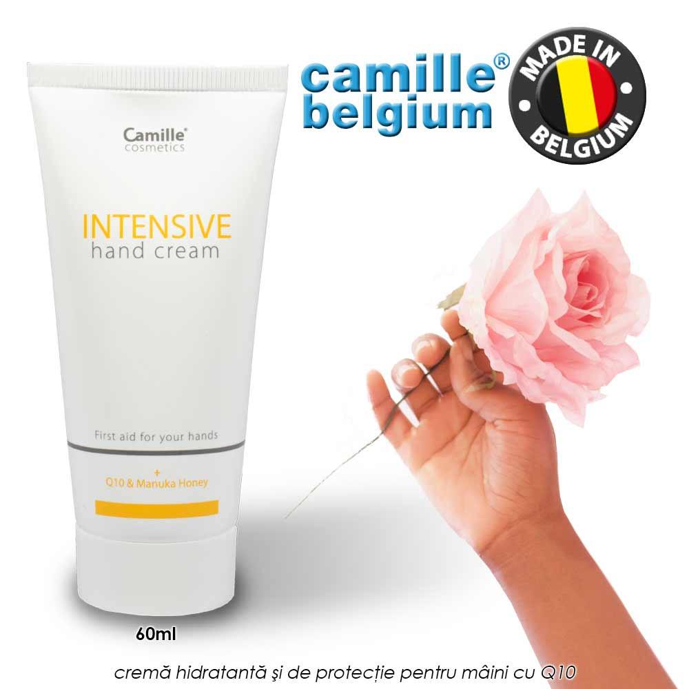 Camille Intensive Hand Cream 60ml - crema hidratanta si de protectie pentru maini cu Q10
