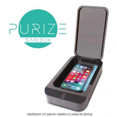 Purize Sanibox - sterilizator UV pentru telefon si obiecte zilnice