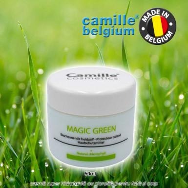 Camille Magic Green 50ml - crema super hidratanta cu clorofila pentru fata si corp