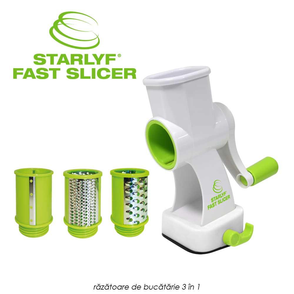 Originalul Starlyf Fast Slicer - razatoare de bucatarie 3 in 1